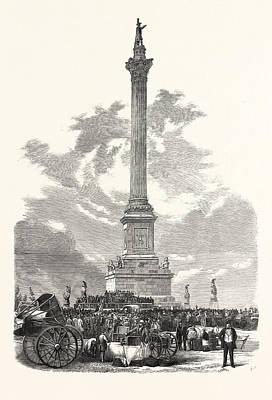 Monument To Major-general Sir Isaac Brock Art Print