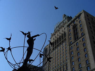 Monument To Multiculturalism And Royal York Hotel  Art Print