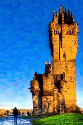 Photograph - Monument To The Legendary William Wallace by Mark E Tisdale