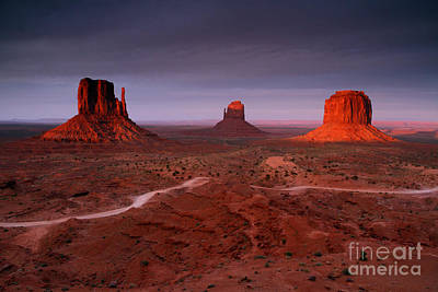 Photograph - Monument Valley 1 by Butch Lombardi