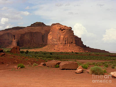 Photograph - Monument Valley #10 by Tom Griffithe