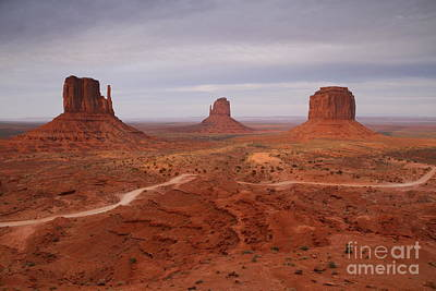 Photograph - Monument Valley 3 by Butch Lombardi