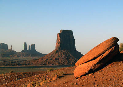 Photograph - Monument Valley Afternoon by Jeff Brunton