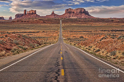 Photograph - Monument Valley And Highway 163 by Colin and Linda McKie