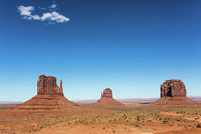 Photograph - Monument Valley, Arizona by Deimagine