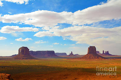 Photograph - Monument Valley Artist's Point by Debra Thompson