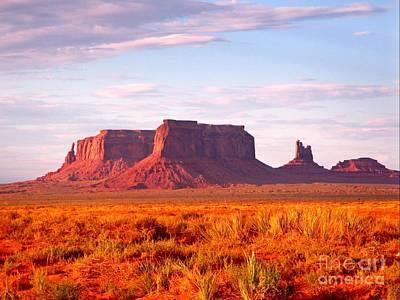 Basketball Patents - Monument Valley at Sunset by John Malone