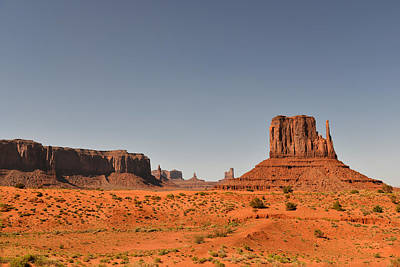 Monument Valley - Beauty Created By Nature Art Print