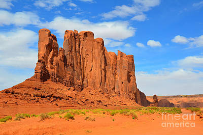 Photograph - Monument Valley Camel Butte by Debra Thompson