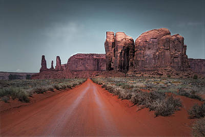 Photograph - Monument Valley by Cindy Rubin