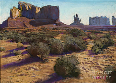 Monument Valley Art Print by Dave Holman