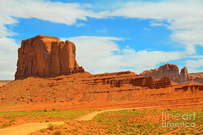 Photograph - Monument Valley Elephant Butte by Debra Thompson