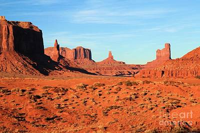 Photograph - Monument Valley Formations by Adam Jewell