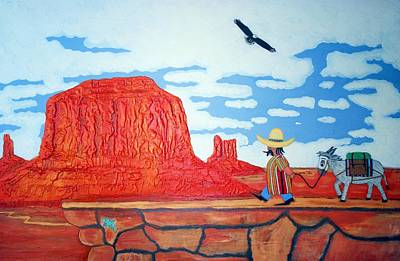 Monument Valley Original by Frank Luxford