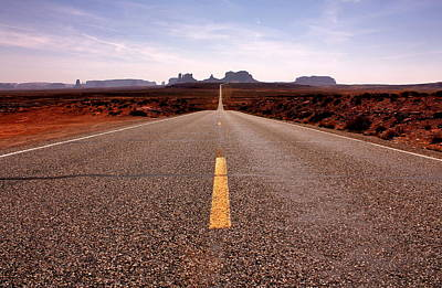Photograph - Monument Valley Highway by Benjamin Yeager