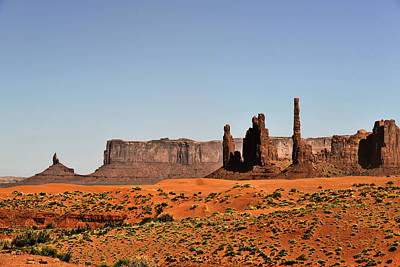 Weather Photograph - Monument Valley - Icon Of The West by Christine Till
