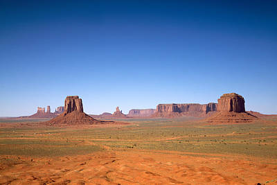 Photograph - Monument Valley In Arizona And Utah Is A Navajo Nation Tribal Park by Carol M Highsmith