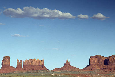 Photograph - Monument Valley In Arizona Is A Navajo Nation Tribal Park by Carol M Highsmith