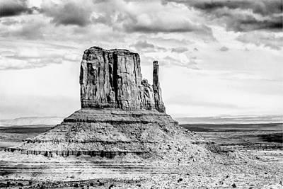 Drawing - Monument Valley by John Haldane