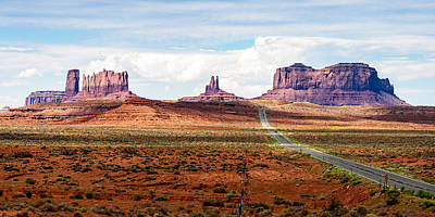 Photograph - Monument Valley by John McArthur