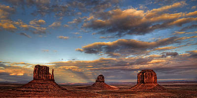 Photograph - Monument Valley by Ken Smith