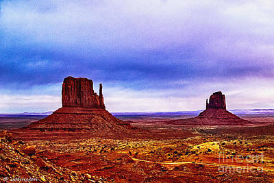Photograph - Monument Valley Navajo National Tribal Park by Bob and Nadine Johnston