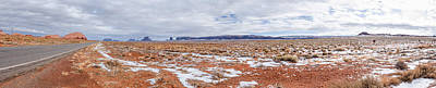 Photograph - Monument Valley Panorama 1 by Jason Chu
