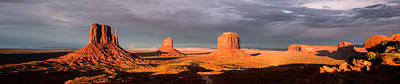Photograph - Monument Valley Panorama by Jerome Obille