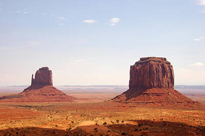 Photograph - Monument Valley by Paul Van Baardwijk