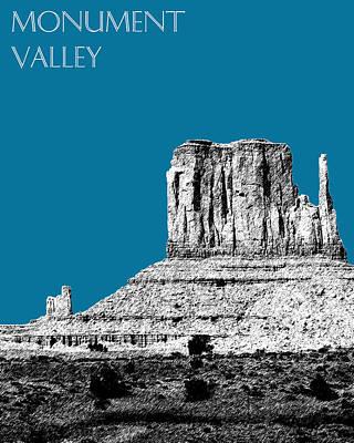 Monument Valley - Steel Art Print by DB Artist