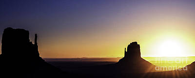 Monument Valley Sunrise Art Print by Thomas R Fletcher