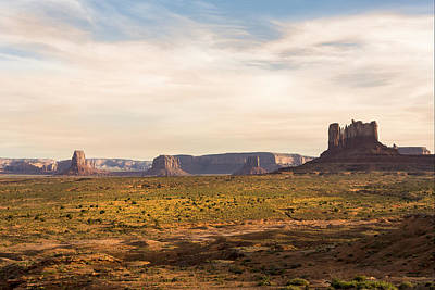 Photograph - Monument Valley Sunset - Arizona by Brian Harig