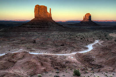 Photograph - Monument Valley Sunset by Pierre Leclerc Photography