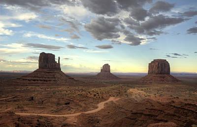 Photograph - Monument Valley Sunset  by Saija  Lehtonen