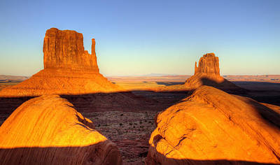 Photograph - Monument Valley Sunset Utah by Pierre Leclerc Photography