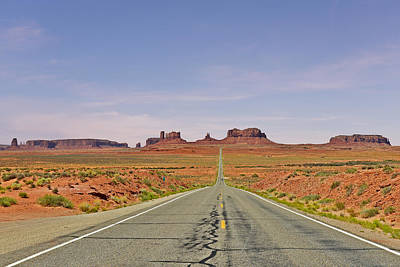 Photograph - Monument Valley - The Classic View by Christine Till
