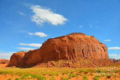 Photograph - Monument Valley The Hub by Debra Thompson