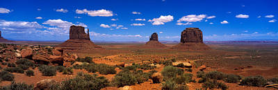 Monument Valley Ut \ Az Art Print by Panoramic Images