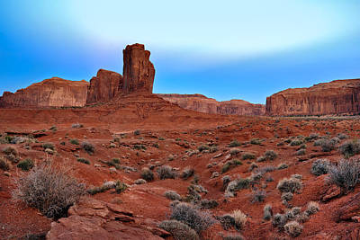 Photograph - Monument Valley View by Tomasz Dziubinski