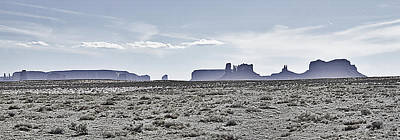 Monument Valley Vista 2 Art Print by Steve Ohlsen