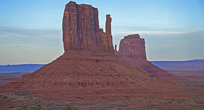 Monument Valley Vista Art Print by Steve Ohlsen