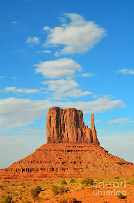 Photograph - Monument Valley West Mitten by Debra Thompson