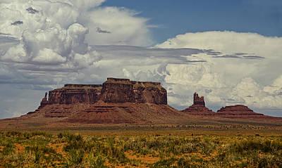Photograph - Monumental Clouds  by Saija  Lehtonen