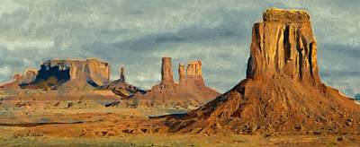 Painting - Monumental by Jeffrey Kolker