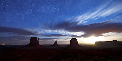 Photograph - Monumental Moonrise by Dustin  LeFevre