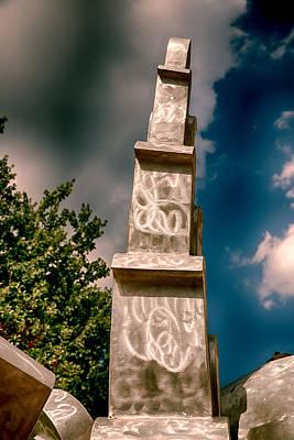 Mixed Media - Monumental Pritchard Park by John Haldane