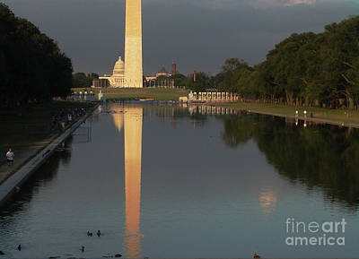 Monumental Reflection Art Print