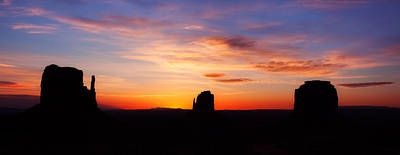 Monumental Sunrise Print by Darren  White