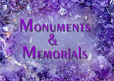 Mixed Media - Monuments And Memorials by Donna Proctor