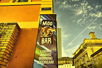Moo Bar  Art Print by Rob Hawkins